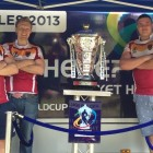 WORLD CUP MATCH CAPS RUGBY LEAGUE'S RISE IN BRISTOL